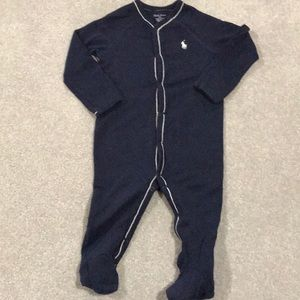 Ralph Lauren Footed Coverall